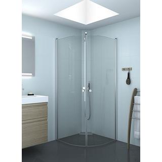 Scanbad Match E Shower Door 200x80mm Brusedør 800mm