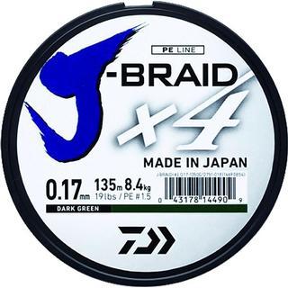 Daiwa Jbraid 4 Braid 0.21mm 1500m