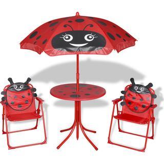 vidaXL 41842 Cafésæt, 1 borde inkl. 2 stole