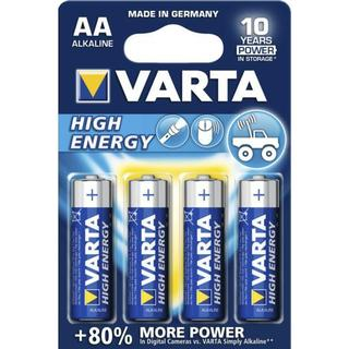 Varta High Energy AA 4-pack
