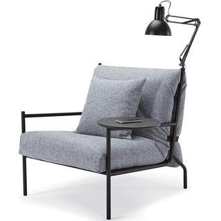 Innovation Noir Stol med armlæn, Loungestol