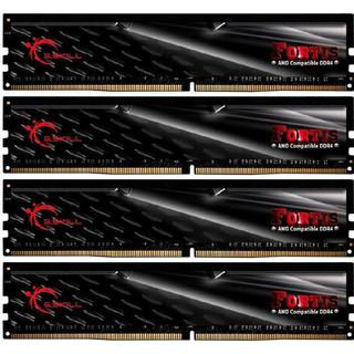 G.Skill Fortis DDR4 2400MHz 4x16GB for AMD (F4-2400C15Q-64GFT)