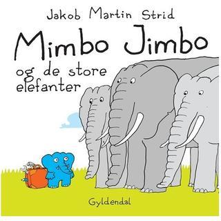 Mimbo Jimbo og de store elefanter, Hardback