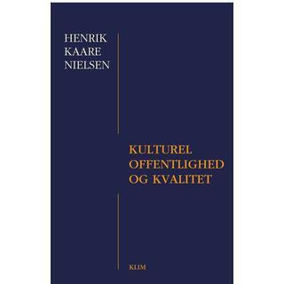 Kulturel offentlighed og kvalitet, E-bog