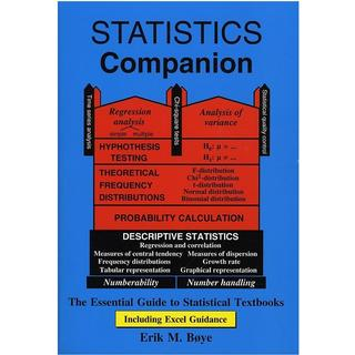 Statistics companion: the essential guide to statistical textbooks - including Excel guidance, Hæfte