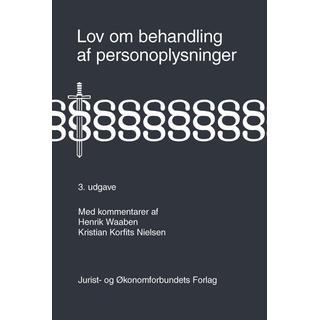 Lov om behandling af personoplysninger, E-bog