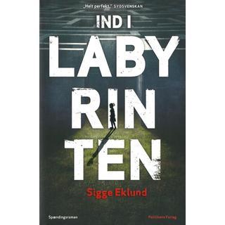 Ind i labyrinten: spændingsroman, Hardback
