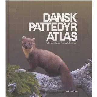 Dansk pattedyratlas, Hardback