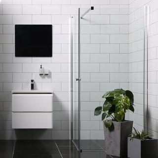 Bathlife Versatile Brusehjørne 900x800mm