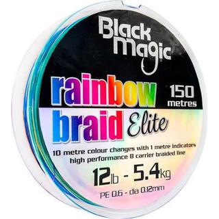 Black Magic Rainbow Braid Elite 0.14mm 150m