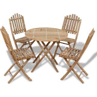 vidaXL 41497 Havemøbelsæt, 1 borde inkl. 4 stole