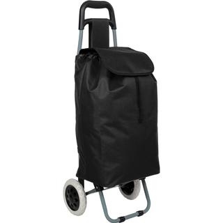 tectake Shopping Cart - Black