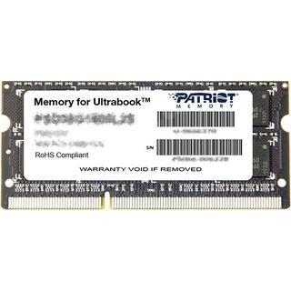 Patriot Signature Line DDR3 1600MHz 4GB (PSD34G1600L2S)