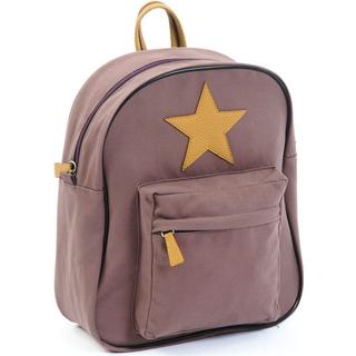 Smallstuff Canvas Large Backpack - Dark Rose