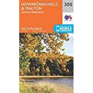 OS Explorer Map (300) Howardian Hills and Malton (OS Explorer Paper Map) (OS Explorer Active Map)