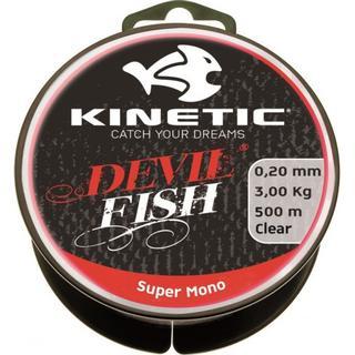 Kinetic Devilfish Super Mono Clear 0.45mm 275m