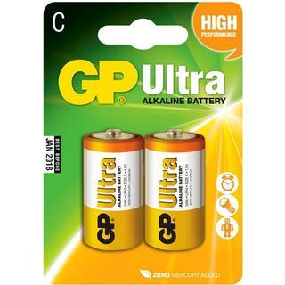 GP Batteries 15AU Lr 14 C Ultra 2-Pack