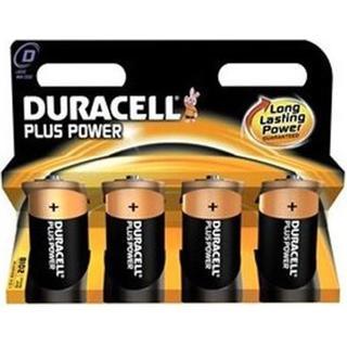 Duracell D Plus Power 4-pack