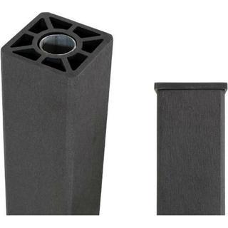 Plus Kompositstolpe m/stålkerne 9x98cm