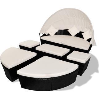 vidaXL 41304 Loungesæt, borde inkl. 1 sofaer