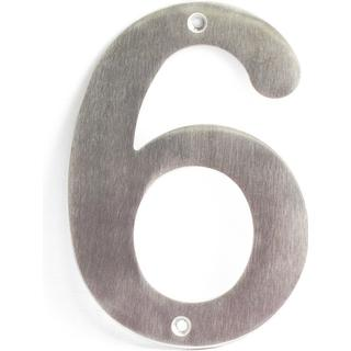 Habo Numeric House Number 6