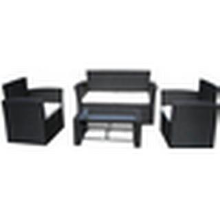 vidaXL 40474 Loungesæt, 1 borde inkl. 2 stole & 1 sofaer