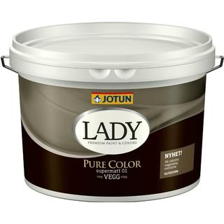Jotun Lady Pure Color Vægmaling Hvid 9L