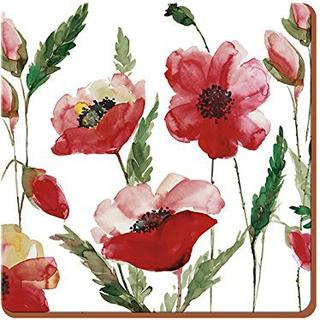Creative Top Watercolour Poppy Premium 6 stk