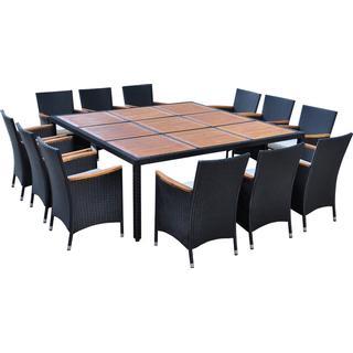 vidaXL 41826 Loungesæt, 1 borde inkl. 12 stole