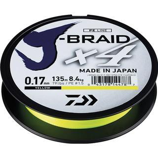Daiwa J-Braid X4 0.13mm 135m