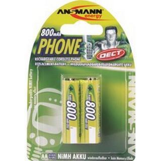 Ansmann DECT NiMH Mignon AA 800mAh MaxE 2-pack