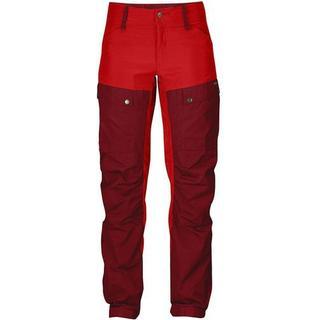 Fjällräven Keb Trousers - Ox Red/Deep Red