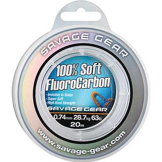 Savage Gear Soft Fluorocarbon 0.74mm 20m