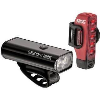Lezyne Macro Drive 1100XL / Strip Drive Pro 300 Lygtesæt