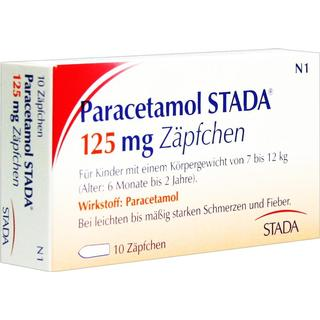 Paracetamol 125mg 10stk