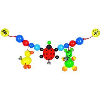 Heimess Duck Ladybird Frog Pram Chain Clips