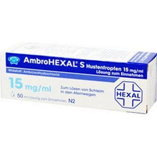 Ambrohexal Hustentropfen 15mg/ml 50ml