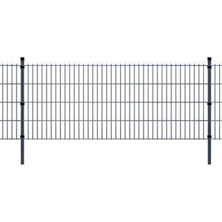 vidaXL 2D Garden Fence Panels & Posts 40mx83cm