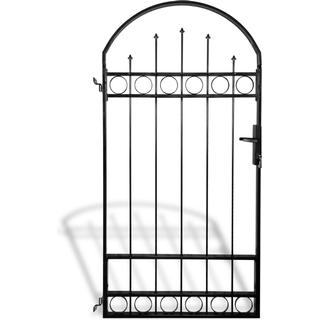 vidaXL Gate Fence with Arched Top 100x200cm