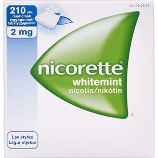 Nicorette Whitemint 2mg 210stk