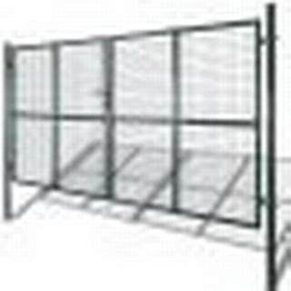 vidaXL Double Door Fence Gate 306x200cm