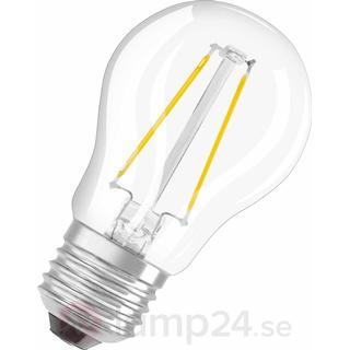 Osram RF CLAS P LED Pærer 2W E27