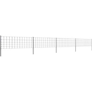 vidaXL Step-In Fence with Post 50mx80/6/30cm