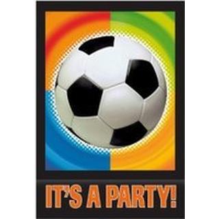 Amscan Invites Championship Soccer 8-pack