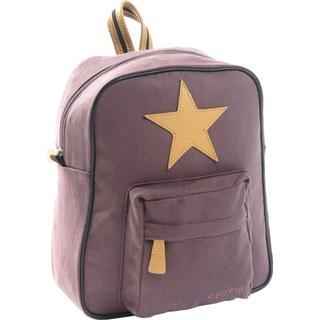 Smallstuff Canvas Backpack - Dark Rose