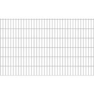 vidaXL 2D panel til havehegn 12mx123cm
