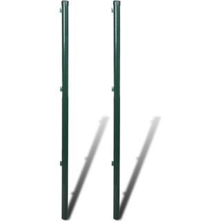 vidaXL Fence Post Ø3.4x200cm 2pcs