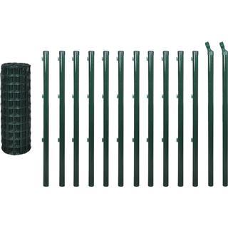 vidaXL Set Euro Fence 25mx80cm