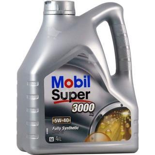 Mobil Super 3000 X1 5W-40 4L Motorolie
