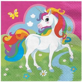 Amscan Napkins Unicorn Luncheon 10-pack